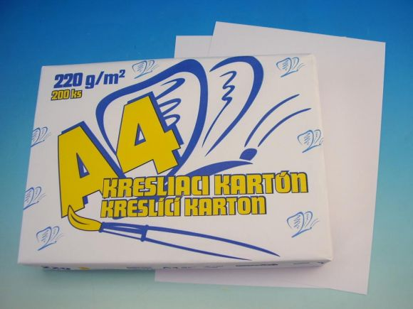 Karton kreslící A4/220g SCP