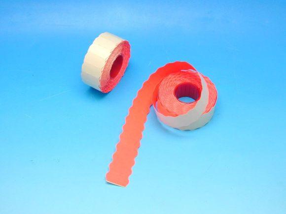 Etikety cenové 26x12 červené CONTACT