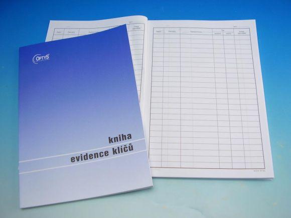 Kniha evidence klíčů A4 /OP1243/