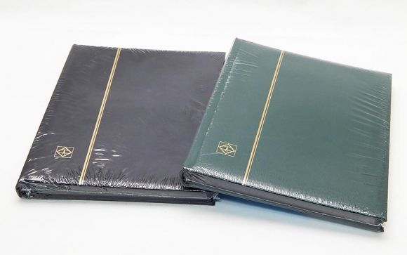 Zásobník na známky A4, 32 černých stran /339252/