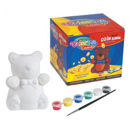 Colorino pokladnička medvídek