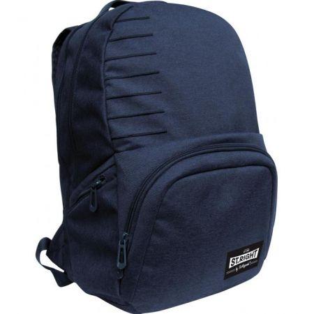 Studentský batoh St.Right Melange navy blue BP35
