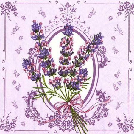 Papírový ubrousek Lavender
