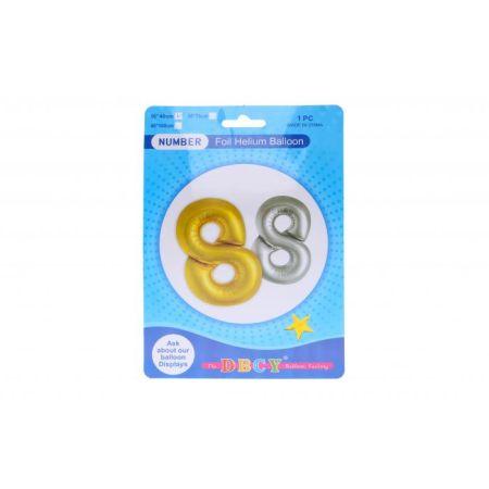 Balonky nafukovací ve tvaru čísla 8