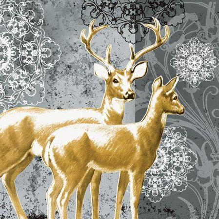 Vánoční papírový ubrousek SK0182_1