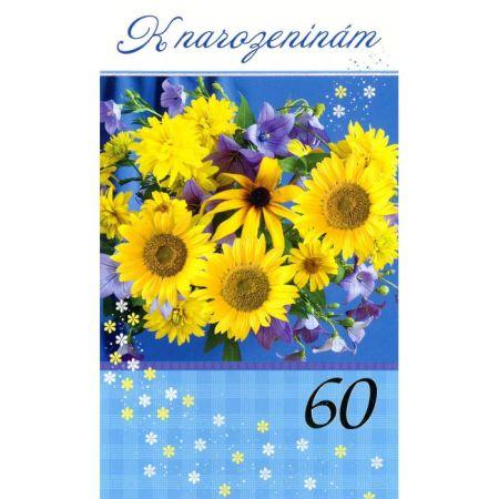 Srdečné přání 60 let Mezuza 01-626 s textem