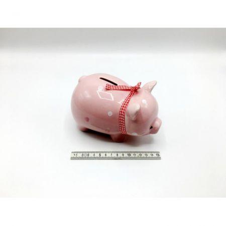 Pokladnička prasátko 17 cm