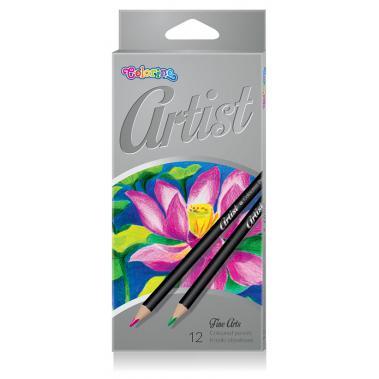 Colorino pastelky Artist ksné 12 ks