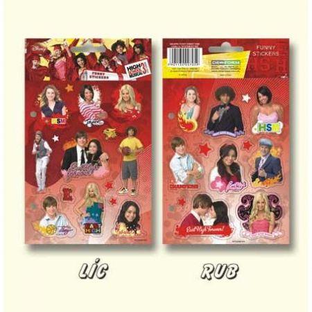 Samolepky High School Musical 3