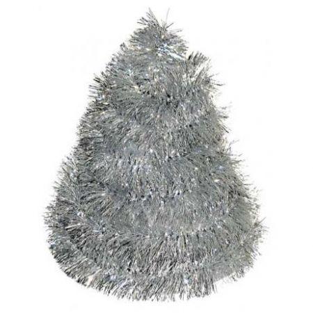 Vánoční řetěz stříbrný