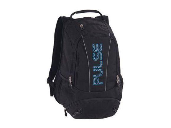 Batoh Sport s přihrádkou na notebook, černo-modrá, PULSE
