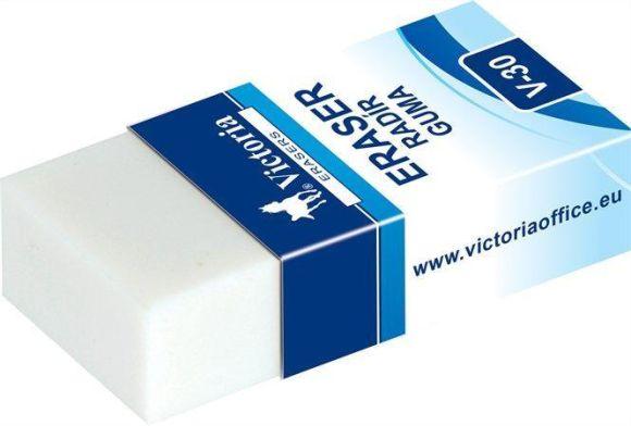 Pryž v papírové tubě V30, 38x18, VICTORIA