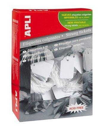 Cenové etikety, bílá, 36 x 53mm, APLI