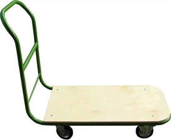 Ruční přepravní vozík, 200 kg, zeleno-šedý