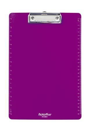 Psací podložka FO-CB011, purpurová, plast, A4, FLEXOFFICE
