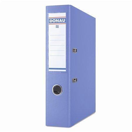 Pákový pořadač Master, světle modrá, 75 mm, A4, s ochranným spodním kováním, PP/karton, DONAU
