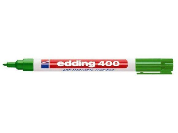 Permanentní popisovač 400, zelená, 1mm, EDDING