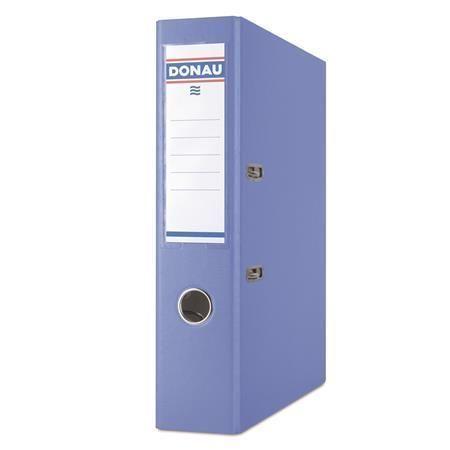 Pákový pořadač Rainbow, světle modrý, 75 mm, A4, PP/karton, DONAU