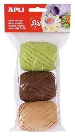 Lýko Kids, zelená, béžová, hnědá, sada, APLI  ,balení 4 ks