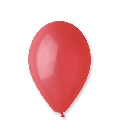 Balónky, 30 cm, červená ,balení 100 ks
