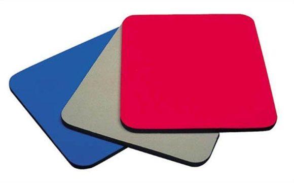 Textilní podložka pod myš, FELLOWES, červená