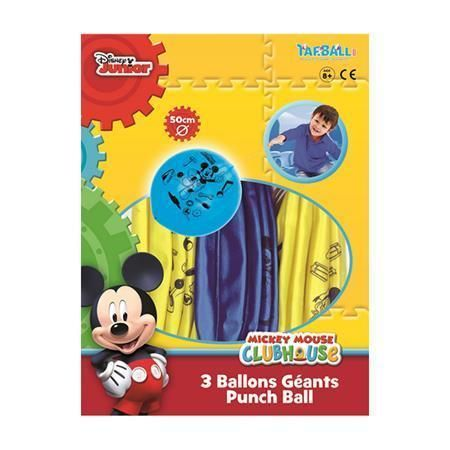 Míč Mickey Mouse, 50 cm ,balení 3 ks