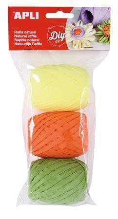 Lýko Kids, žlutá, oranžová, zelená, sada, APLI  ,balení 3 ks