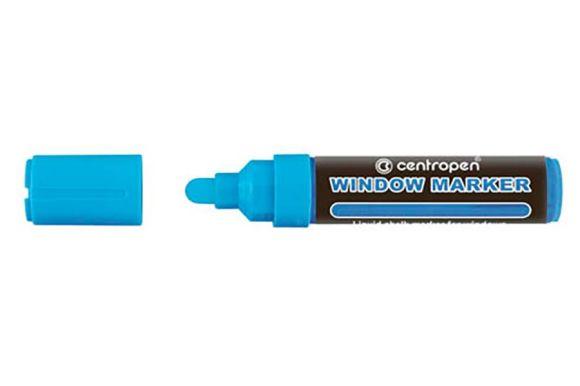 Značkovač Centropen 9121 window - modrá