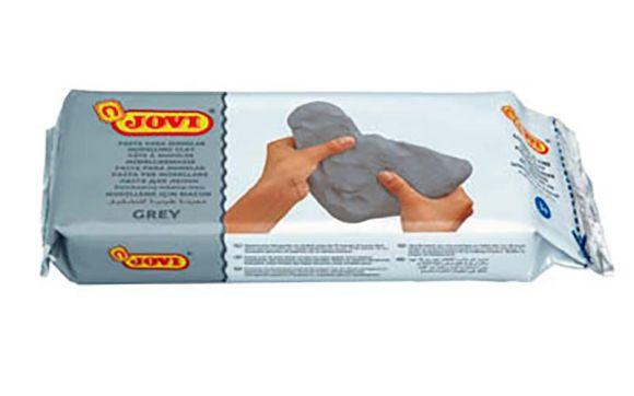Modelovací samotvrdnoucí hmota JOVI - šedá / 500 g