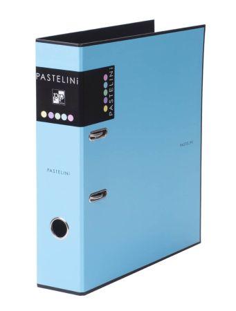 Pořadač A4 pákový PASTELINI - hřbet 7 cm / modrá / 7-280