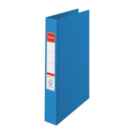 Esselte pořadač A4 kroužkový celoplastový 2 - kroužek 4,2 cm modrá