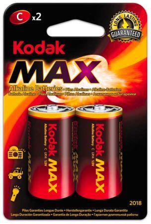 Baterie Kodak alkalické - baterie mono článek malý R14 / 2ks