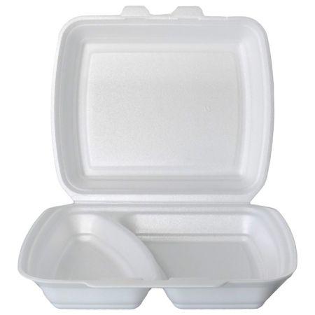 Miska Menubox - 2-dílná / bílá