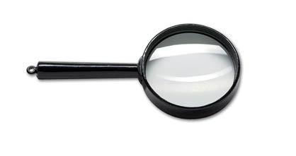 Lupa plastová CONCORDE - prům.80 mm