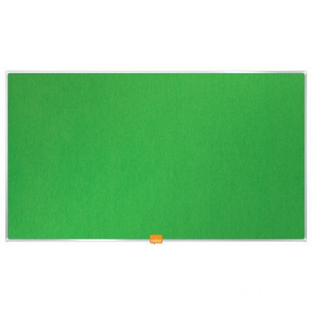 Nástěnka textilní Widescreen 32 / zelená