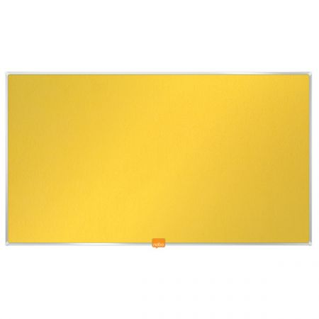 Nástěnka textilní Widescreen 32 / žlutá