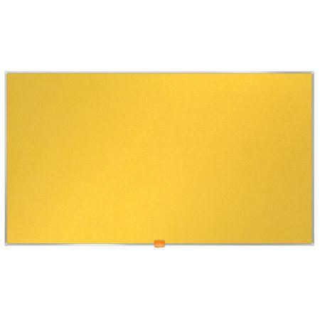 Nástěnka textilní Widescreen 40 / žlutá
