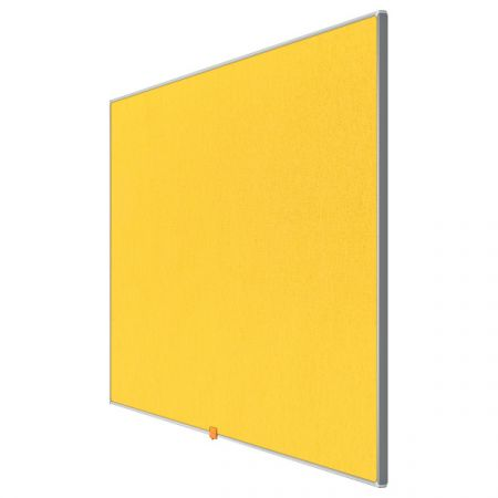 Nástěnka textilní Widescreen 55 / žlutá