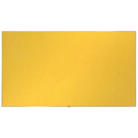 Nástěnka textilní Widescreen 85 / žlutá