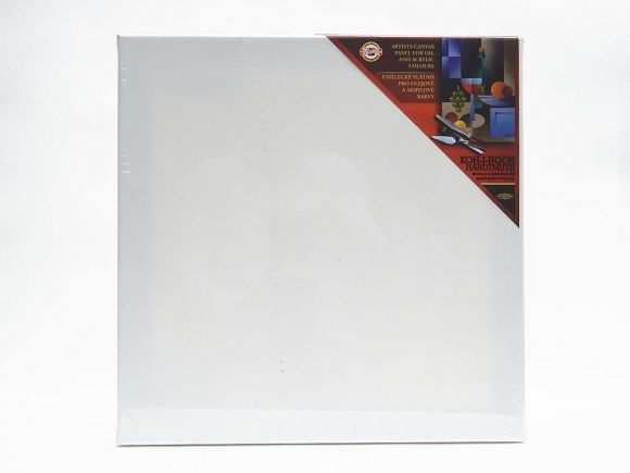 Dřevěný rám s plátnem 30 x 30 cm
