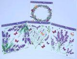 Dekorace okenní - levandule /965/