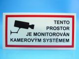 Samolepka 651 Kamerový systém