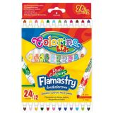 Colorino fixy  Duo 12 ks / 24 barev