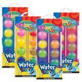 Colorino vodové barvy  23mm 12 barev