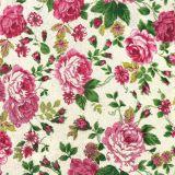 Papírový ubrousek Rose Fabric