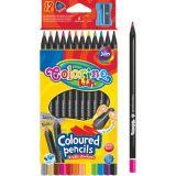 Colorino pastelky z černého dřeva 12 ks