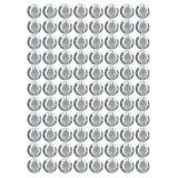 Samolepící kamínky - bílé 140 ks