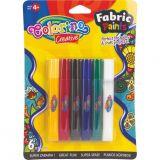 Colorino barvy na textil 6 barev