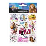 Samolepky metalické Hannah Montana