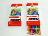 Pastelky 3718 25 akvarelových pastelek RYBY